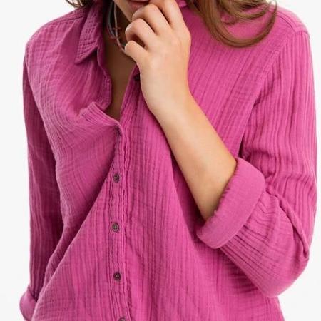 Xírena Scout Shirt - Pink