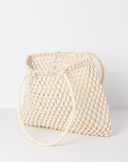 Clare V. Sandy Bag - Natural