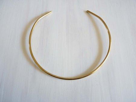 Cinq Bauhaus Collar - Brass