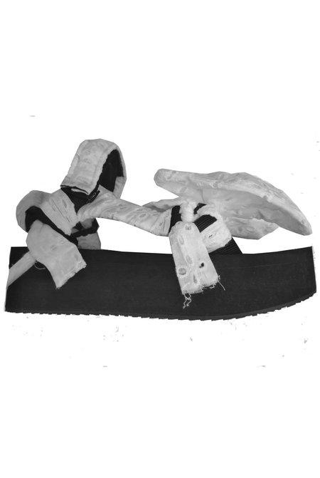 Arizona Love Trekky Platform Lace Bow