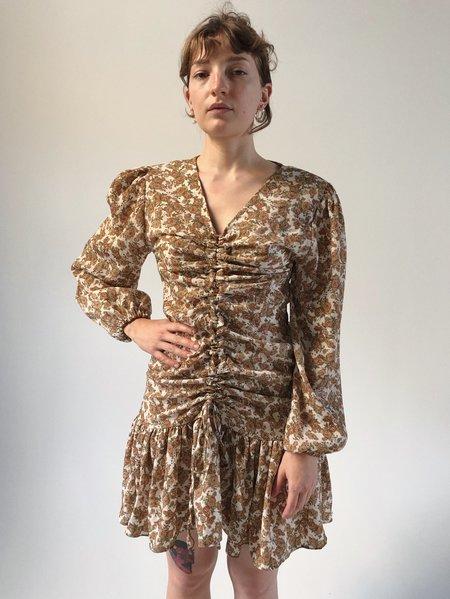 JOWA. Urbane Flower Shirring Dress