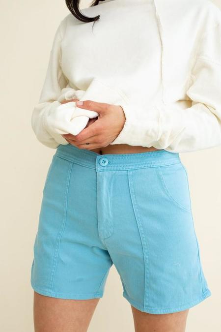 Unisex Jungmaven Venice Shorts - Pool Blue