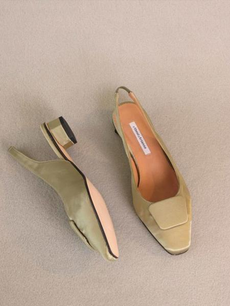 About Arianne Galo Beauty Doré Vegan shoes - Olive Green