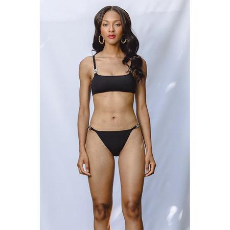 Beth Richards Linx Bikini Top - Black