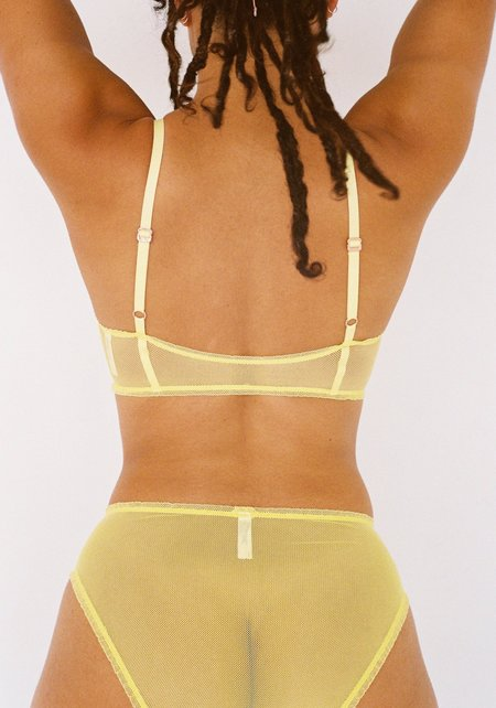 Lonely Shelby High-Waisted Brief - Sorbet Yellow