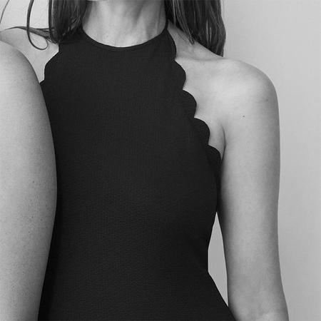 Marysia Mott High Neck 1 Piece - Black