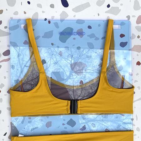 Nu Swi Ha-Ra Bralette Bikini Top - Yolk