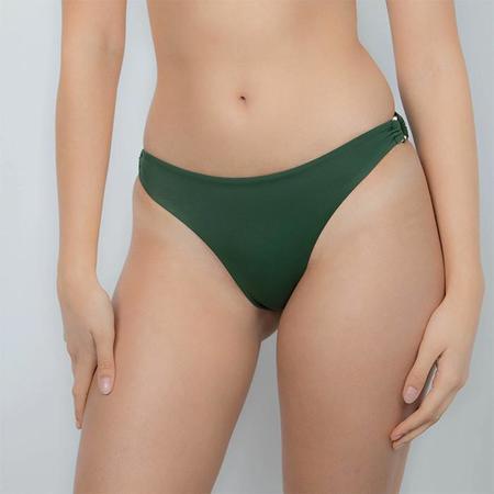 Palm Grace Bikini Bottom with Rings - Savannah