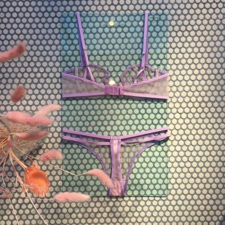 Taryn Winters Kelani Thong - Lilac Blush