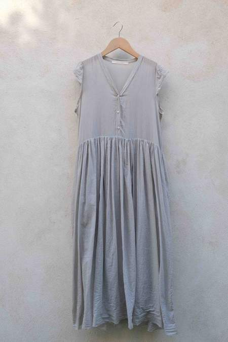 Elsa Esturgie Cadence Dress - Light Gray