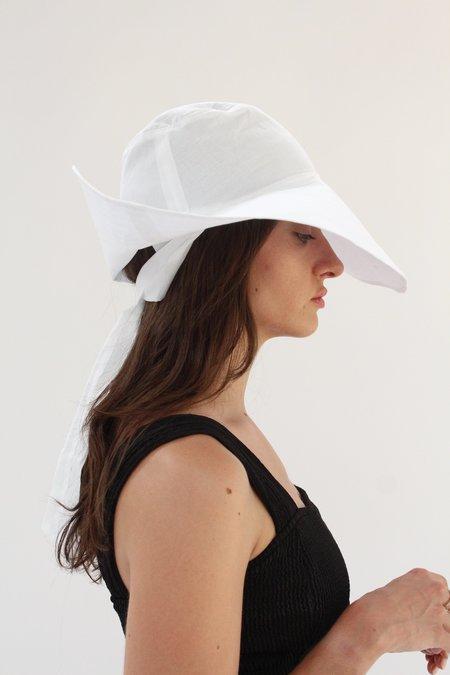 Beklina Tie Hat - White