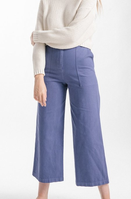 First Rite Cargo Trouser - French Blue