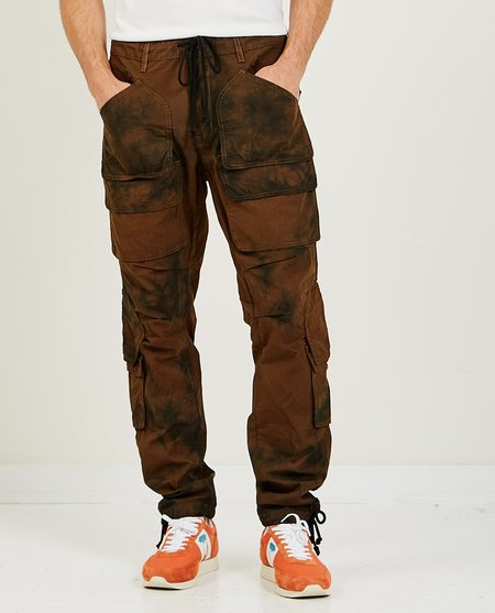 Hudson Hunter Cargo Pant - Black Tie Dye