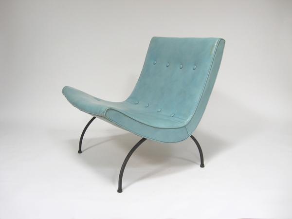 """Milo Baughman """"Scoop"""" Chair"""