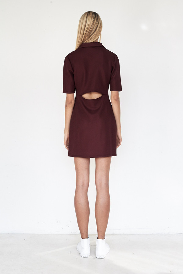 Tosia Pique Suspension Polo Dress