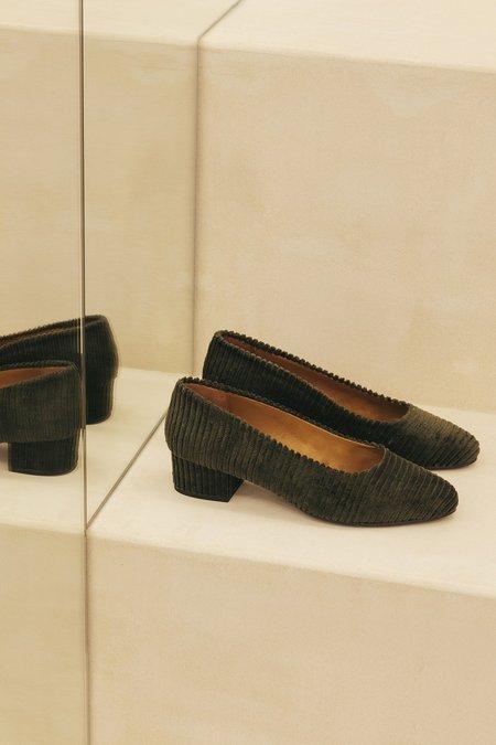 Anne Thomas Michèle Murritz heels - Olive