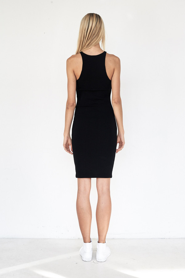 Assembly New York Viscose Ribbed Tank Dress