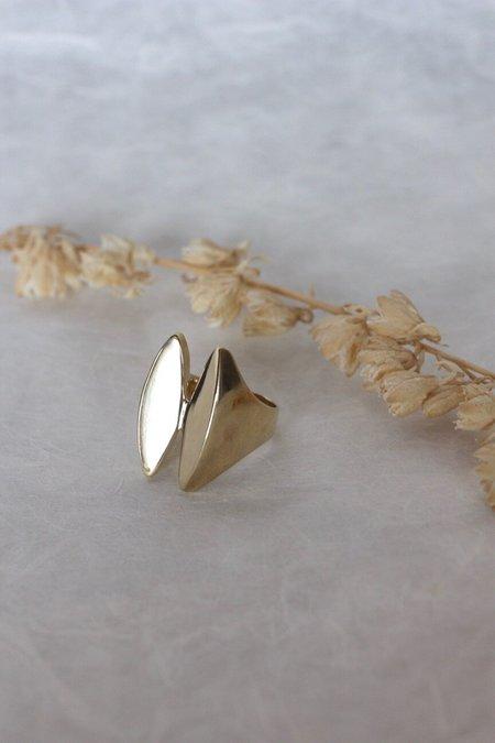 Ariana Boussard-Reifel Tsushima Ring - Brass