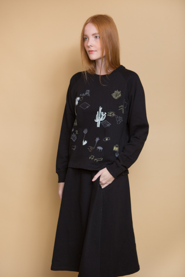 Kowtow On the Road Crew - Black