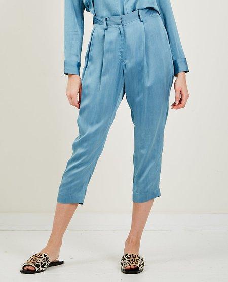 TRIAA Shiny Tapered Pant - Blue
