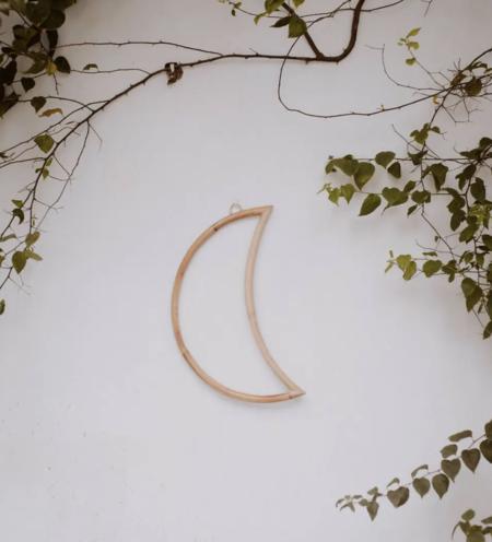 Village Thrive Rattan Crescent Moon