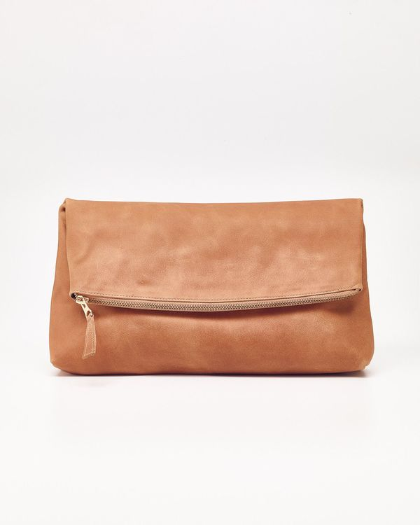 Nisolo Lima Clutch Almond - What's It Worth