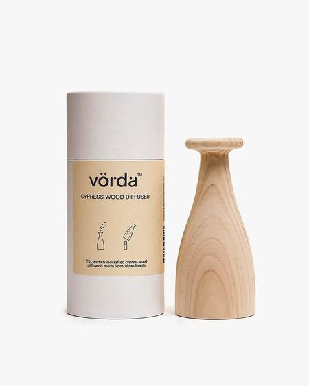 Vorda Japanese Cypress Wood Diffuser - natural