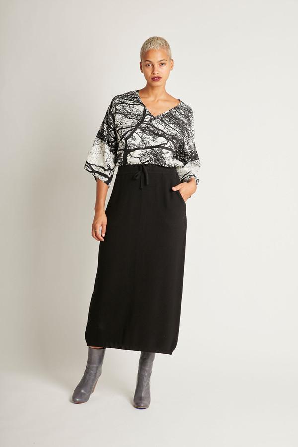 Kowtow Freeway Skirt in Black