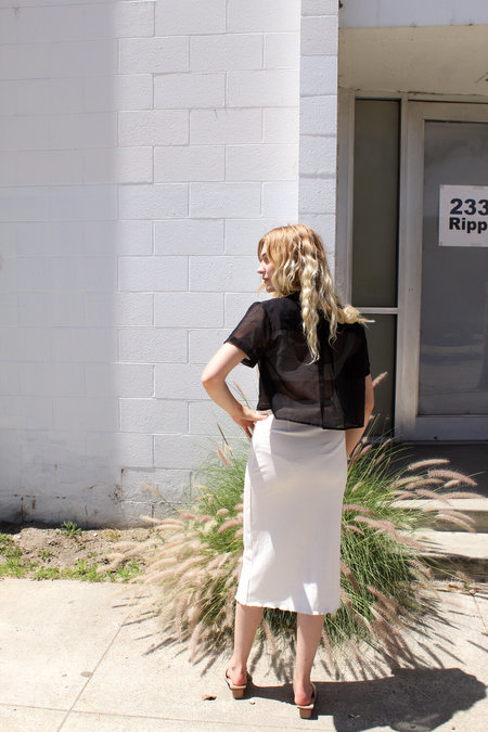 Angie Bauer Jen Skirt - Alabaster