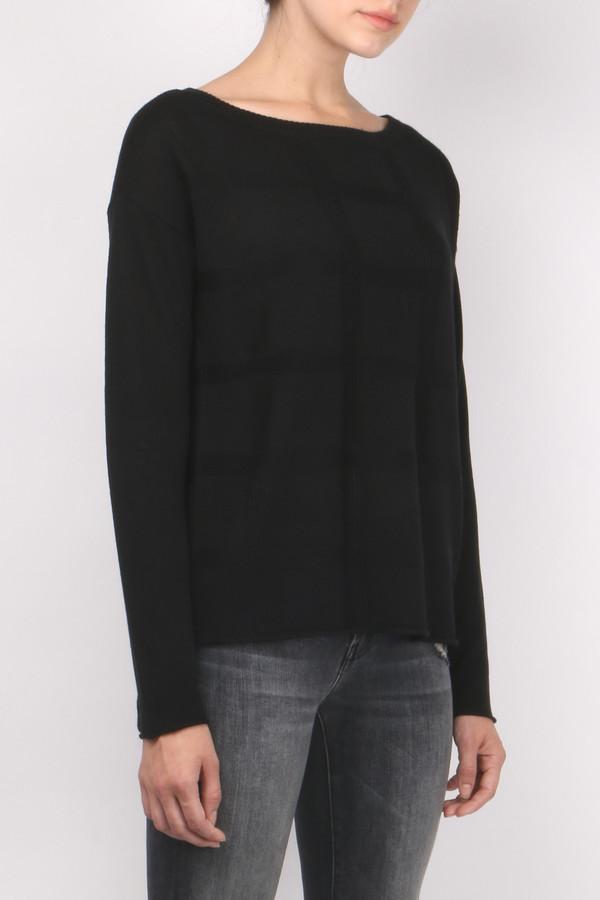 ATM Jacquard Boatneck Sweater