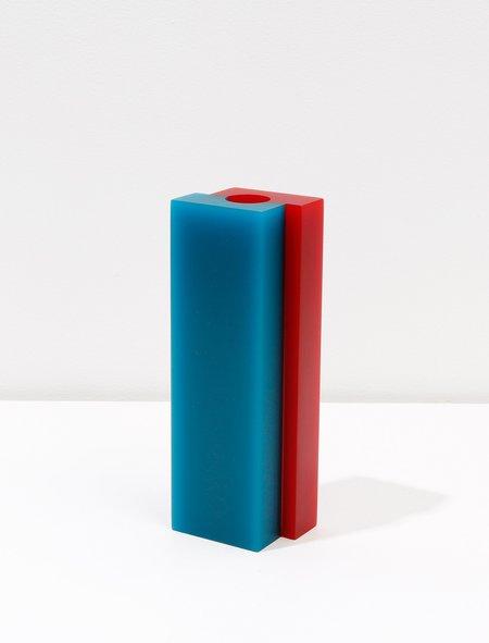 Dean Toepfer Vase Versa - Teal/Red