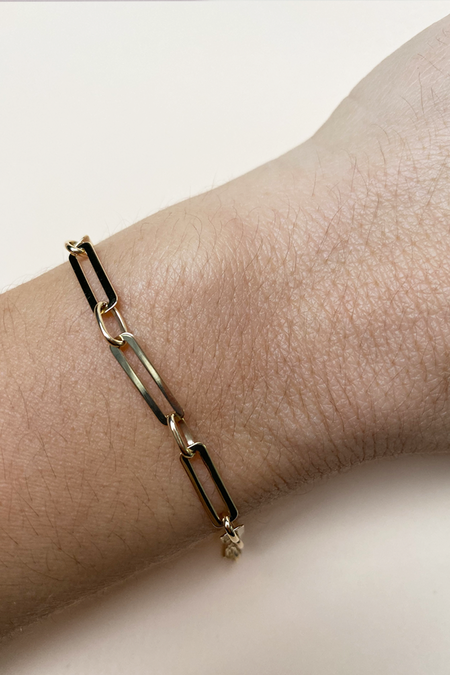 Primary New York Paperclip Chain Bracelet