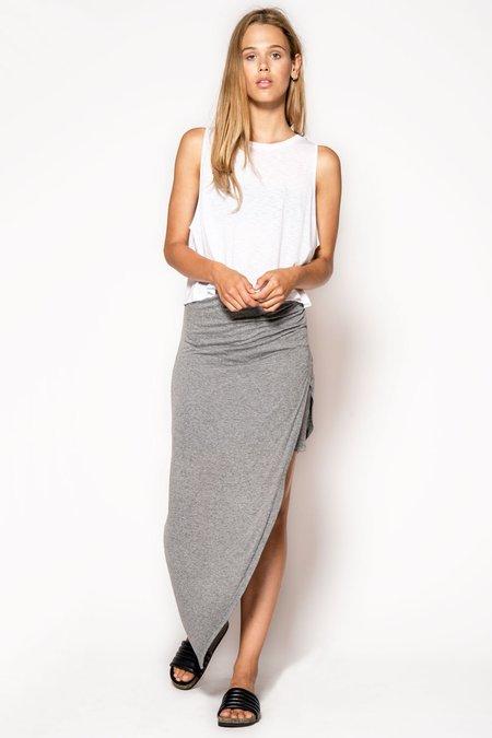 Just Female Comme Skirt - gray