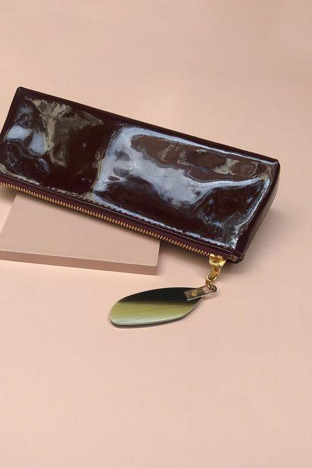 Rachel Comey Dime Bag Cosmetics Pouch - Bordeaux