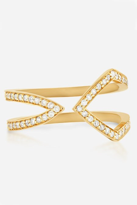 Primary X Carbon & Hyde Diamond Tripp Ring