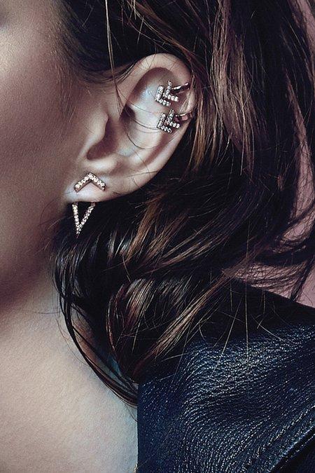 Primary X Carbon & Hyde Eiffel Single Ear Jacket