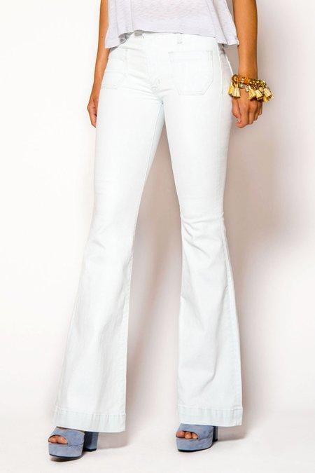 Hudson Jeans Taylor Flare Jeans - Super Pale Whisper Light Blue