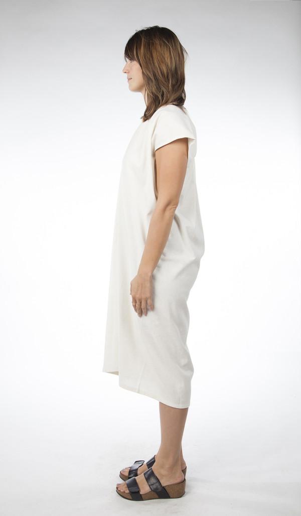Miranda Bennett In-Stock: Everyday Dress, Oversized, Silk Noil in Natural