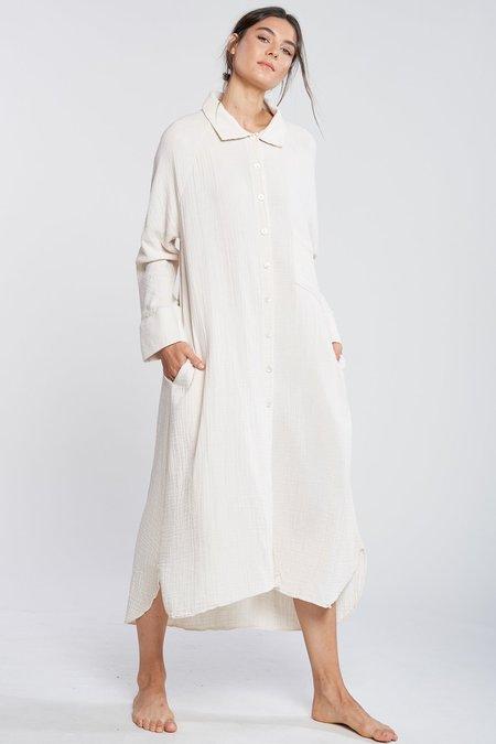 FILOSOFIA Allison Button Down Dress - Cloud