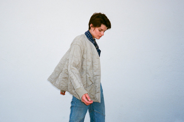 VINTAGE QUILTED COTTON JACKET