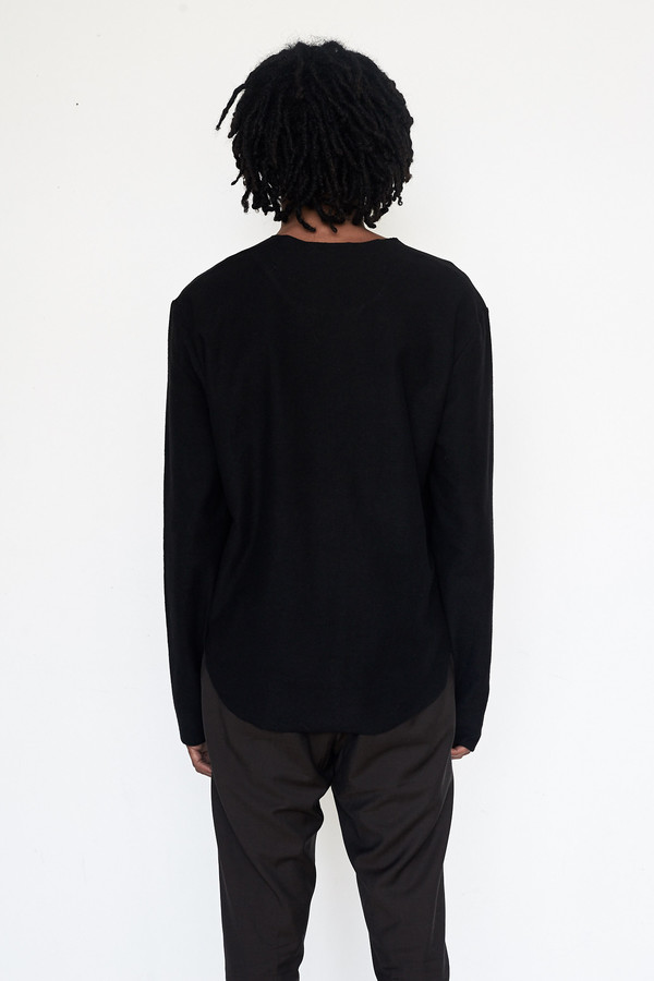 Assembly New York Cotton Reverse Terry L/S Tee