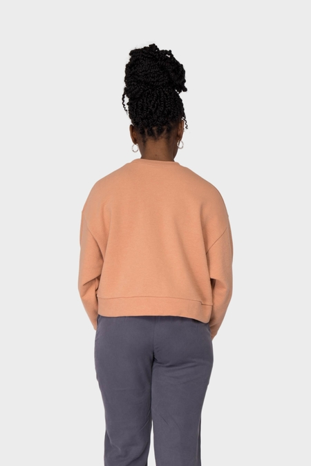 Can Pep Rey Bo Cropped Sweater - Toasted Nut