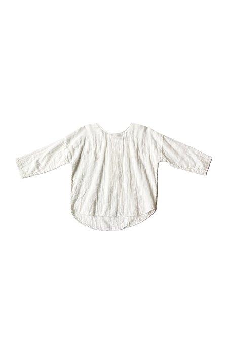 VOLOSHIN Chana Crinkle Gauze Top - white