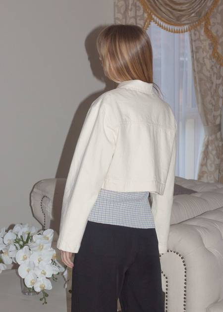 permanent vacation Archival Cropped Jacket