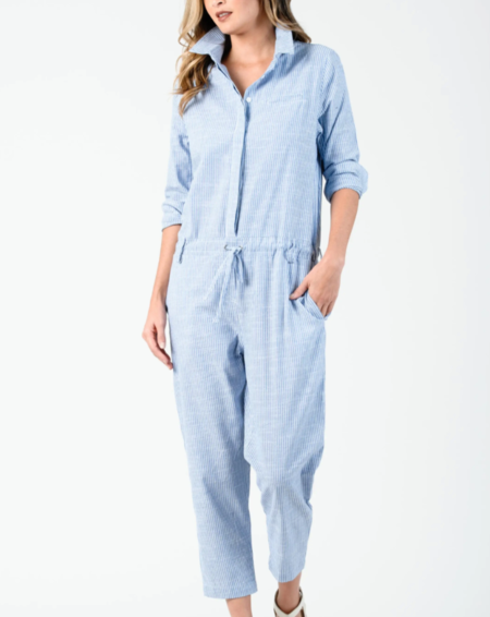 Lucca Couture ZINNEA LONG SLEEVE JUMPSUIT