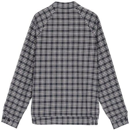 Stüssy plaid linen bryan jacket - Navy