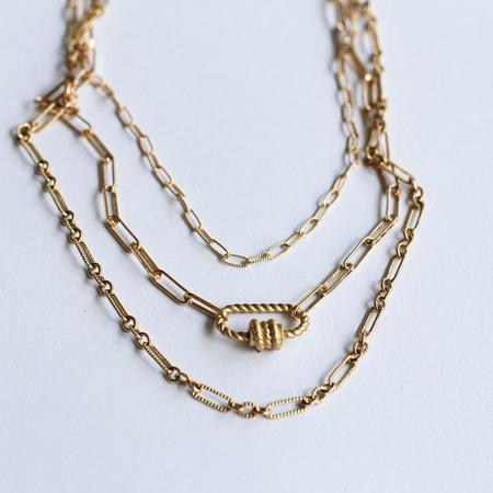 Joy Dravecky Knot Today Choker - Gold
