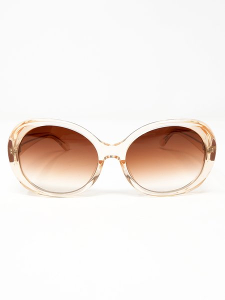 Chimi Round Fawn Sunglasses - Fawn