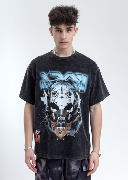 LXVI Helmet T-Shirt - Black