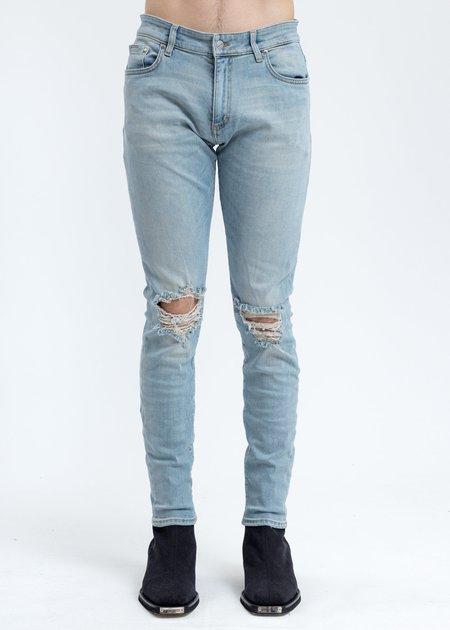 Represent Destroyer Denim Jeans - Light Blue